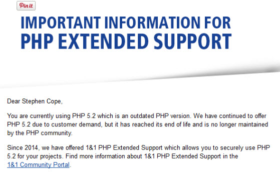 1and1-php-extended-support