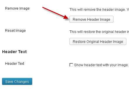 remove-header-image
