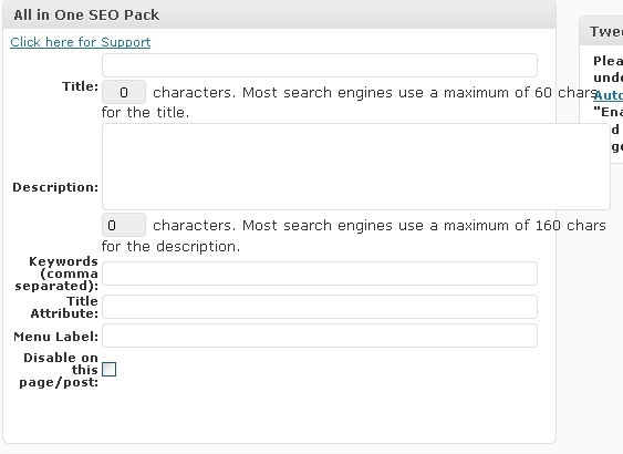 all-one-seo-page-post-setttings