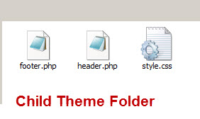 child-theme-folder-contents