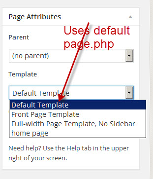 default-page-template