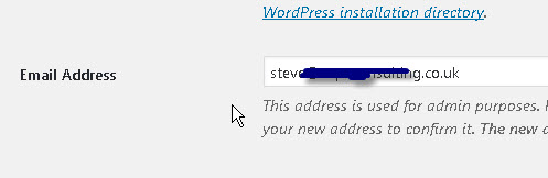 wordpress-admin-email-address