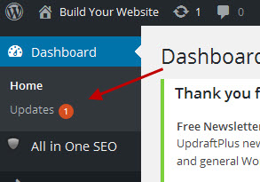 wordpress-dashboard-updates