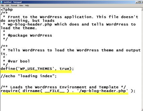 wordpress-index.php