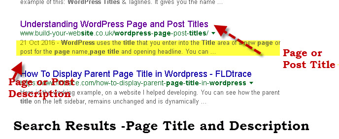 wordpress-page-title-search-engine-results