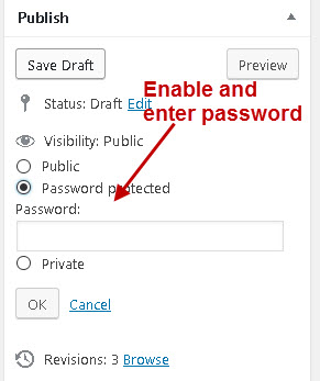 wordpress-password-protection
