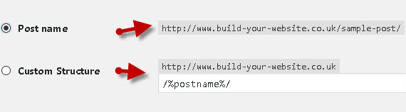 wordpress-permalink-settings