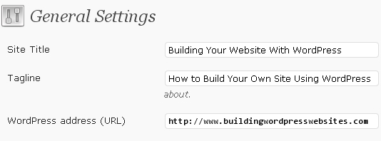wordpress-site-title-tagline-settings