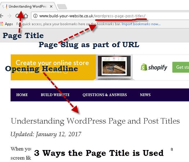wordpress-webpage-title